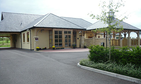 Mendip Crematorium and its grounds