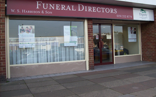 W S Harrison & Son Funeral Director exterior