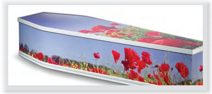 Colourful and picture coffins Dignity Funerals