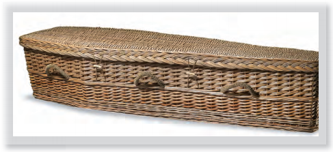 Eco coffins Dignity Funerals